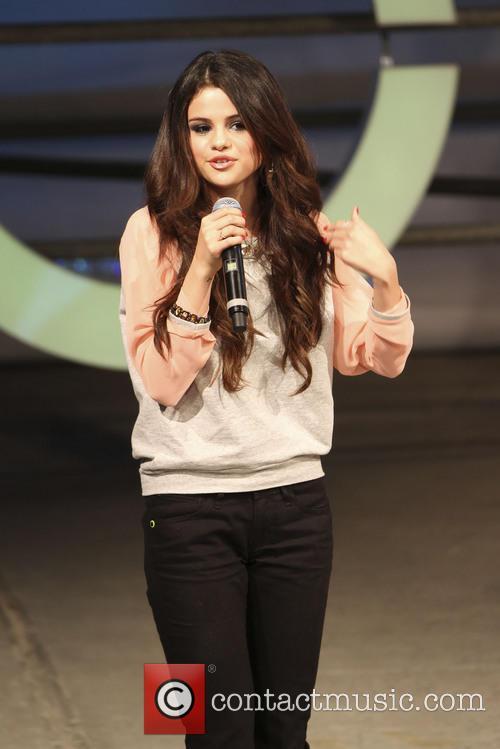 Selena Gomez hosts Adidas NEO catwalk show