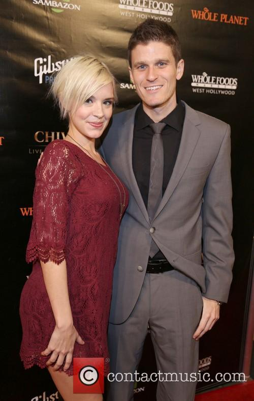Brea Grant and Kevin Pereira
