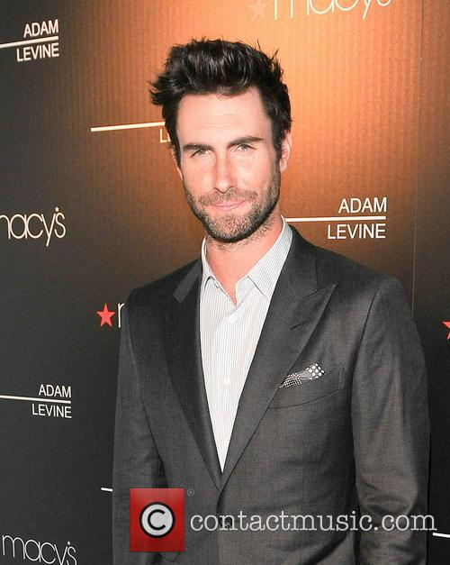 Adam Levine launches his new fragrance