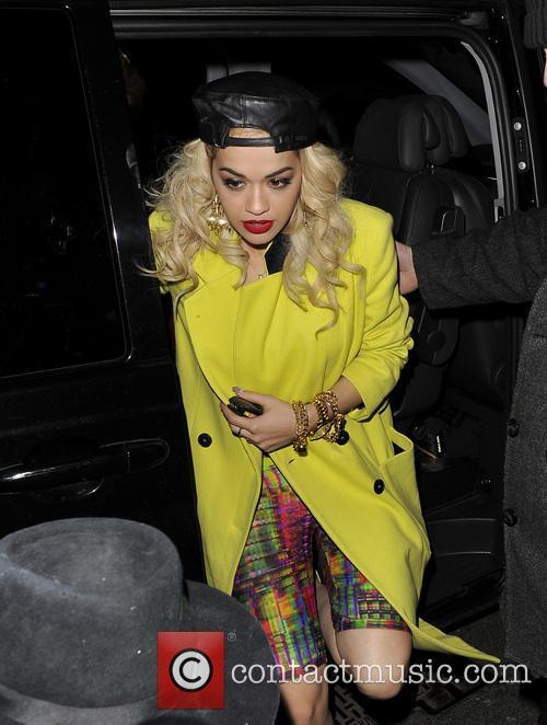 Rita Ora's Wrap Party