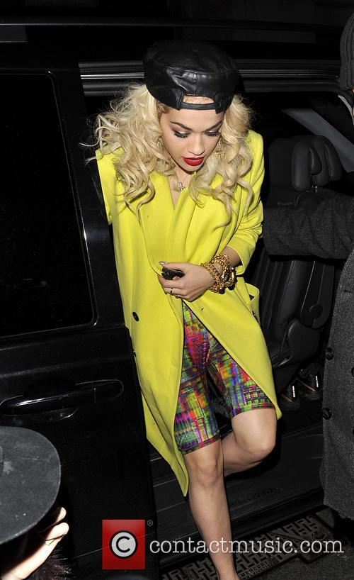 Rita Ora's Wrap Party
