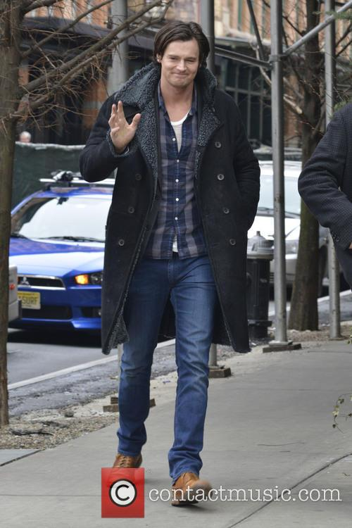Benjamin Walker seen out and about in Manhattan