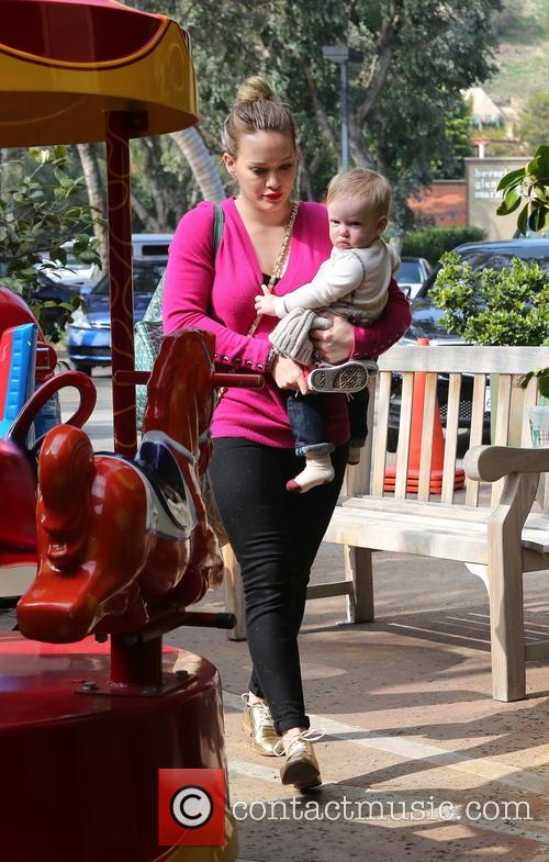 Hilary Duff and Luca Comrie 3