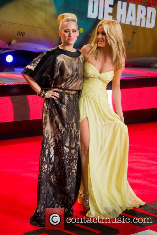 Kimberley Wyatt and Ashley Roberts 2