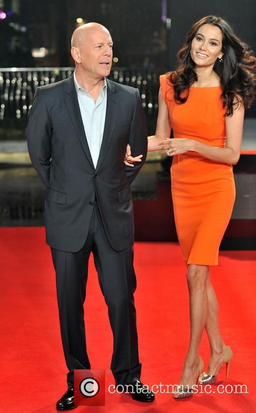 Bruce Willis, Emma Haming