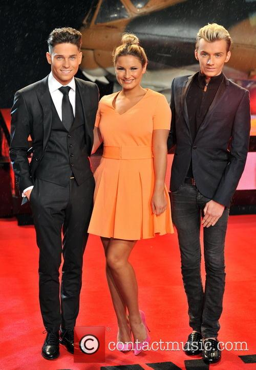 Joey Essex, Harry Derbridge and Sam Faiers 8