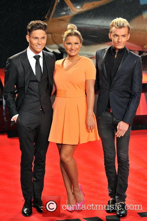 Joey Essex, Harry Derbridge and Sam Faiers 9