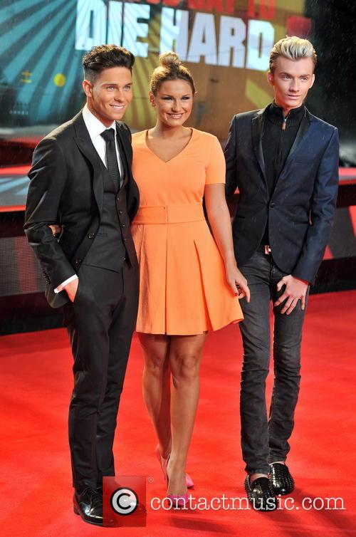 Joey Essex, Harry Derbridge and Sam Faiers 10