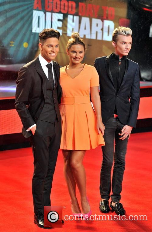 Joey Essex, Harry Derbridge and Sam Faiers 11