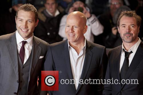 Jai Coutney, Bruce Willis and Sebastian Koch 5