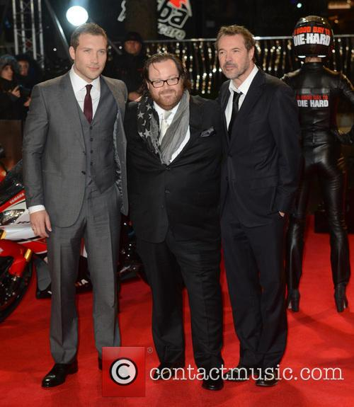 Jai Courtney, John Moore and Sebastian Koch 2