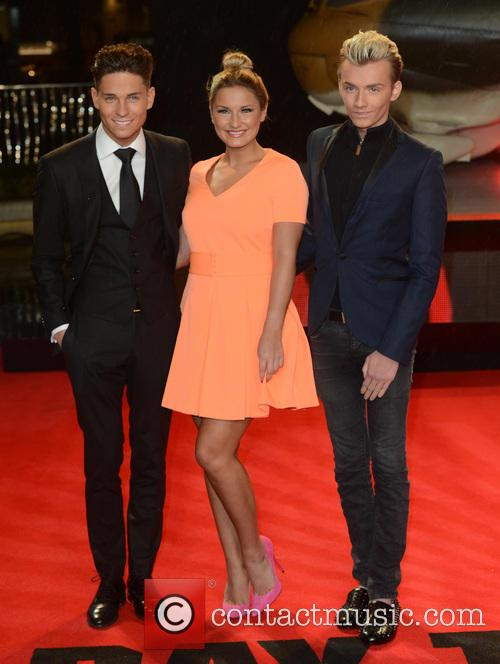 Joey Essex, Sam Faiers and Harry Derbidge 2