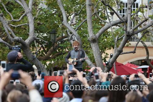 ed sheeran ed sheeran at the grove 3488261