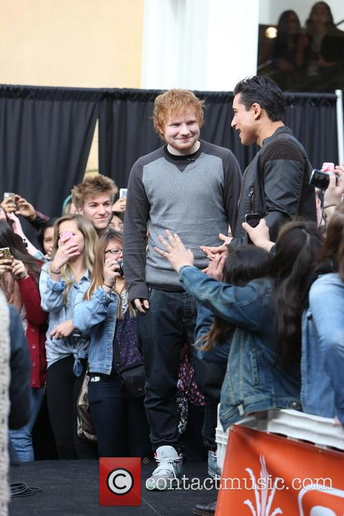 Ed Sheeran at The Grove to appear and...