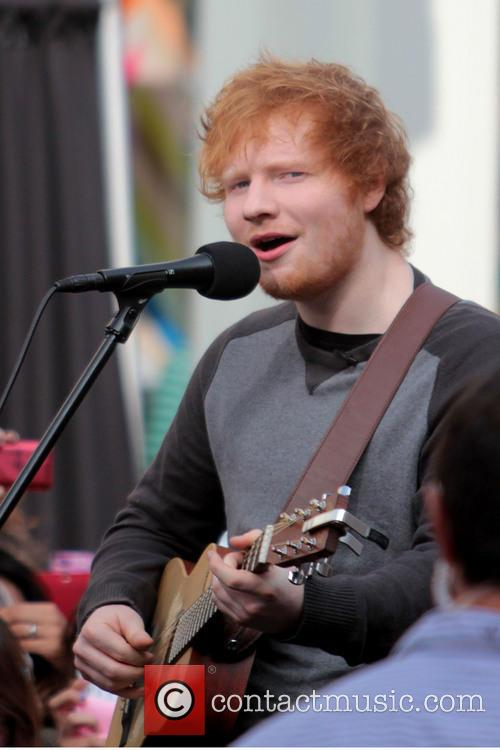 ed sheeran celebrities at the grove to appear 3488005