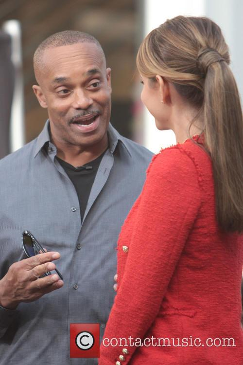 Rocky Carroll and Maria Menounos 4