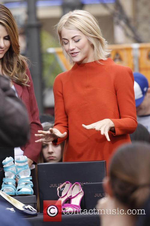 julianne hough celebrities at the grove to appear 3488373