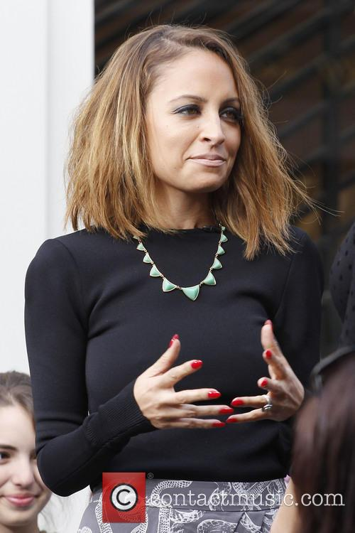 nicole richie celebrities at the grove to appear 3488383