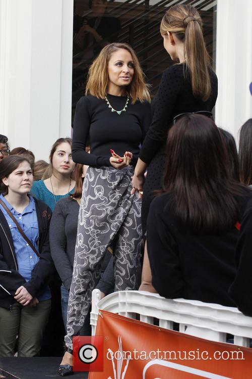 nicole richie celebrities at the grove to appear 3488384