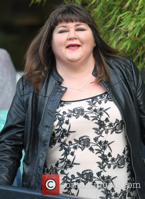 cheryl fergison celebrities at the itv studios 3486372