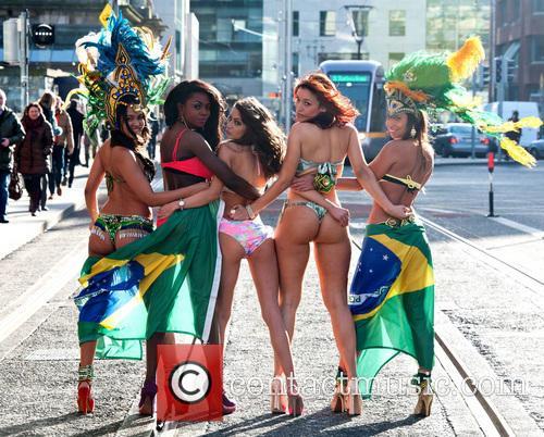 'Miss Carnival Ireland 2013' photoshoot