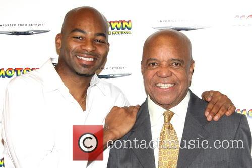 Brandon Victor Dixon and Berry Gordy 2