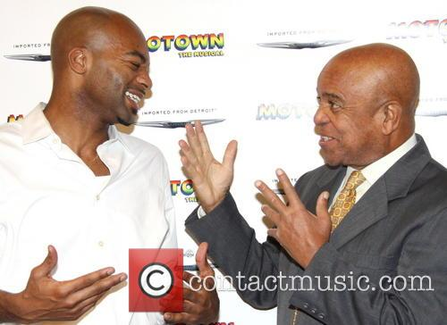 Brandon Victor Dixon and Berry Gordy 3