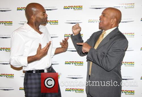 Brandon Victor Dixon and Berry Gordy 4