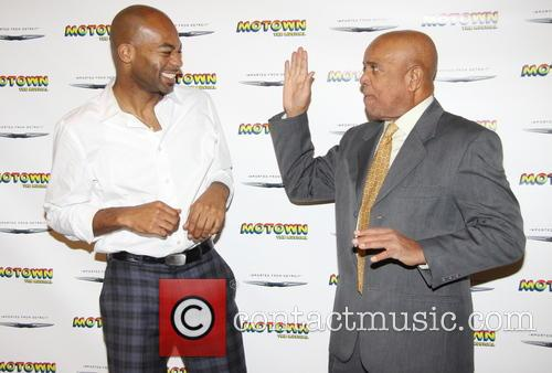 Brandon Victor Dixon and Berry Gordy 5
