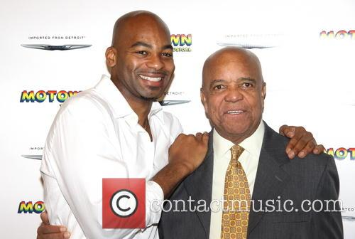 Brandon Victor Dixon and Berry Gordy 6