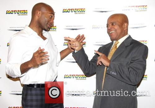 Brandon Victor Dixon and Berry Gordy 9
