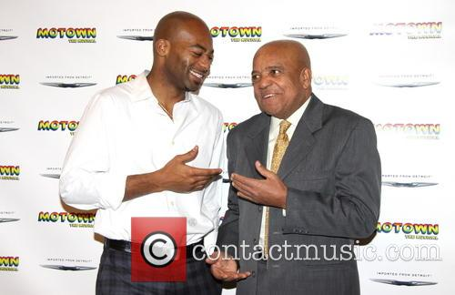 Brandon Victor Dixon and Berry Gordy 11