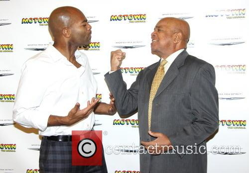 Brandon Victor Dixon and Berry Gordy