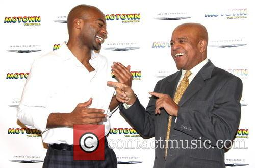 Brandon Victor Dixon and Berry Gordy 10
