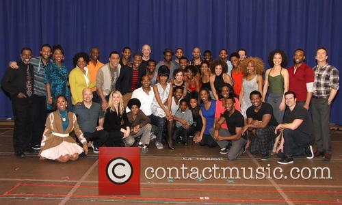 Brandon Victor Dixon, Valisia Lekae and Cast 7
