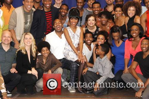 Brandon Victor Dixon, Valisia Lekae and Cast 8