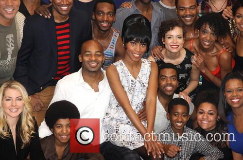 Brandon Victor Dixon, Valisia Lekae and Cast 10