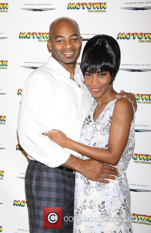 Motown, Brandon Victor Dixon and Valisia Lekae 2