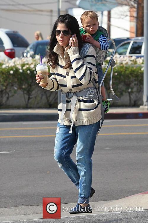 Selma Blair and Arthur Saint Bleick 8