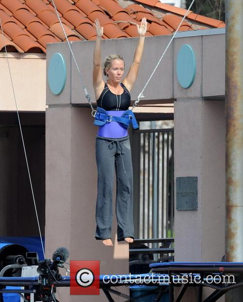 kendra wilkinson celebrities practice their dives for the 3487477