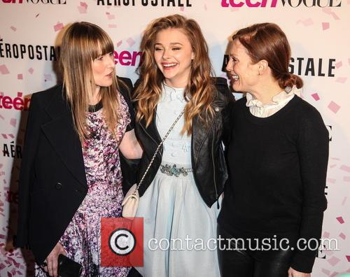 Amy Astley, Chloe Grace Moretz and Julianne Moore 1