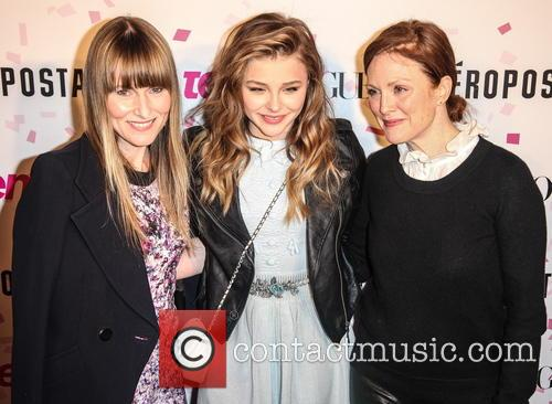 Amy Astley, Chloe Grace Moretz and Julianne Moore 7