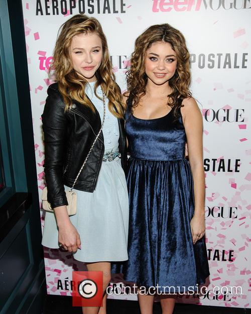 Chloe Moretz and Sarah Hyland 4