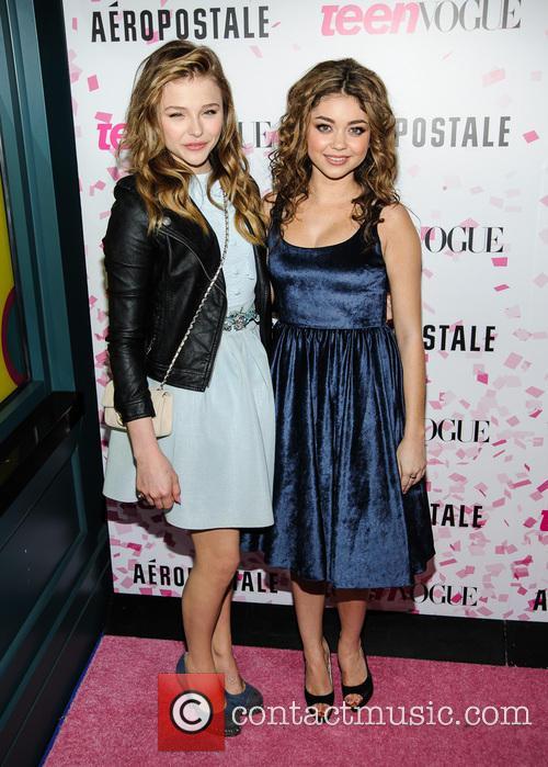 Chloe Moretz and Sarah Hyland 6