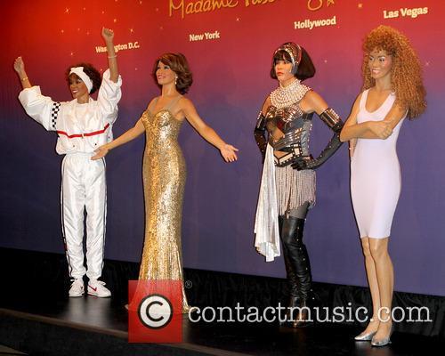 Whitney Houston Wax Figures