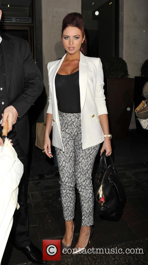 Amy Childs At The May Fair Hotel