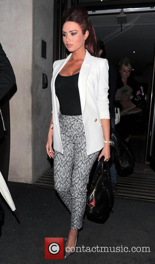 Amy Childs leaving The May Fair Hotel