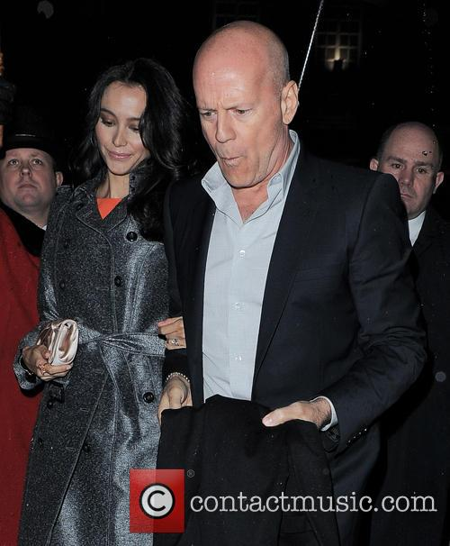 Bruce Willis and Emma Heming 3