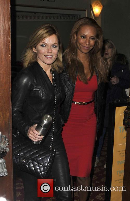 Melanie Brown and Geri Halliwell 4