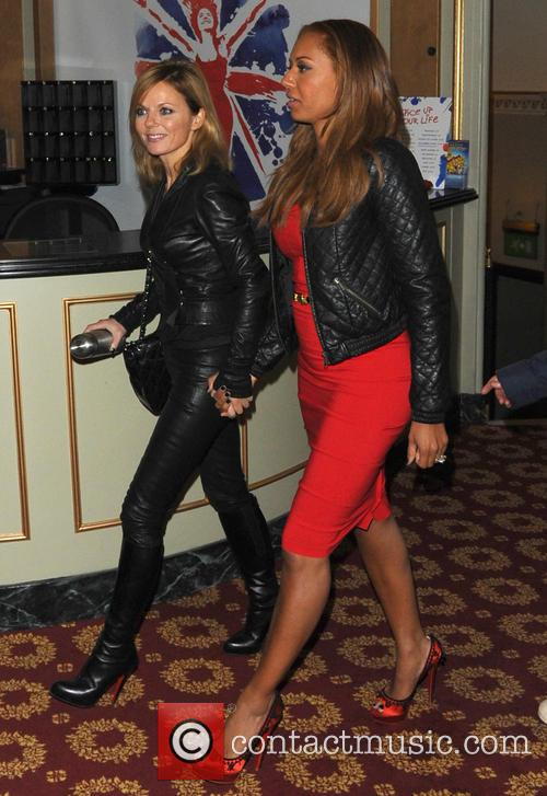 Geri Halliwell and Melanie Brown 1